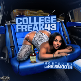College Freak 43 DJ HB Smooth front cover