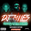 Tracks of the Month (November Edition) (2016) DJ Miles front cover