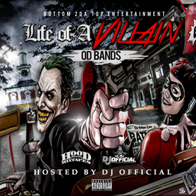 Life Of A Villain Od Bands front cover