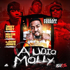 Audio Molly [Hosted By Ferrari Ferrell & A1FBG] 3rdy Baby front cover
