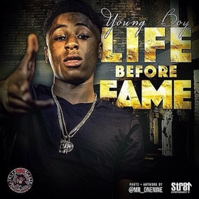 Life Before Fame NBA YoungBoy front cover