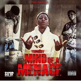 Mind Of A Menace NBA YoungBoy front cover