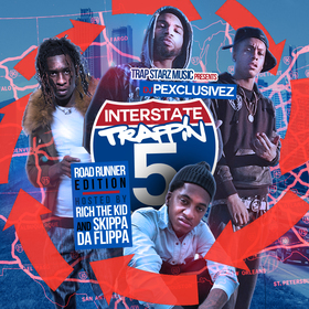 Interstate Trappin 5: Road Runner Edition DJ P Exclusivez front cover