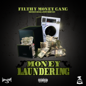 Money Laundering Dirty Filthy Money Gang front cover