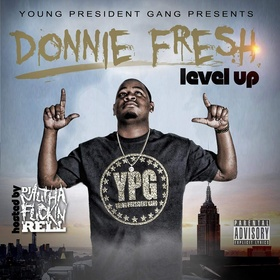 Level Up Donnie Fresh front cover