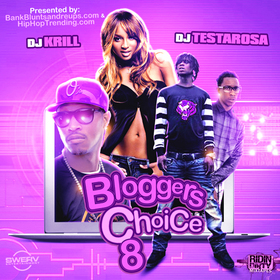 Bloggers Choice 8 DJ Testarosa front cover