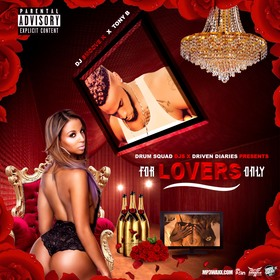 For Lovers Only Tony B front cover
