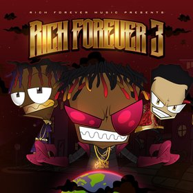 Rich Forever 3 Rich Forever Music front cover