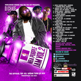 Worldwide Soundz Own DJ Chase - NBA Purple Jam Vol. 2 New Music Mixtape (For Promo Use Only) DJ Chase front cover