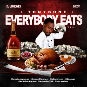 Everbody Eats Vol. 1 Tony Bone front cover