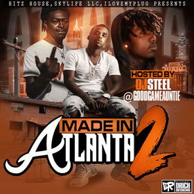 Made In Atlanta 2 DJ Steel ATL front cover