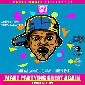 Make Partying Great Again DJ Cam front cover