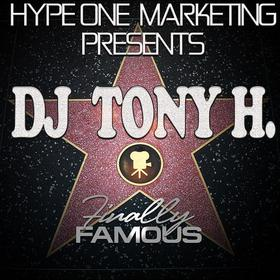 Finally Famous DJ Tony H front cover