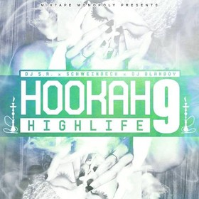 Hookah Highlife 9 DJ S.R. front cover