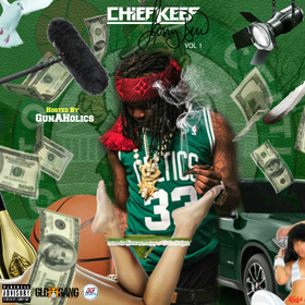Chief Keef - Larry Bird Vol.1 GunAHolics front cover