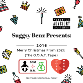 Merry Christmas From 252U(The G.O.A.T. Tape) BGM Suggsy Benz front cover