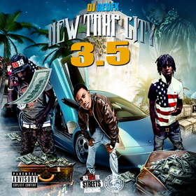 New Trap City 3.5 Dj RedFx front cover
