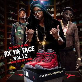 Fix Ya Face Vol.12 DJ Stop N Go front cover