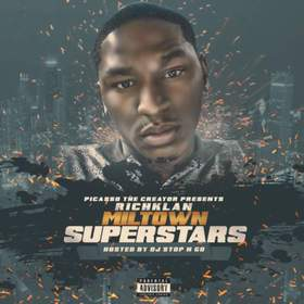 Richklan , Miltown Superstars Picasso The Creator  front cover