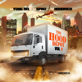 Hood Depot 3 DJ Yung Rel front cover