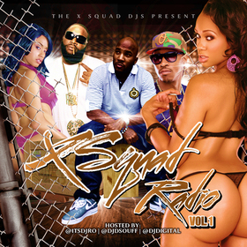 X-Squad DJs Present - X Squad Radio Vol.1 Hosted by DJ D.Souff, DJ Digital & DJ Ro DJ D.Souff front cover