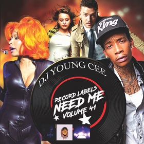 Dj Young Cee- Record Labels Need Me Vol 41 Dj Young Cee front cover