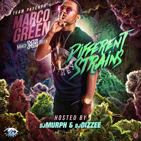 Different Strains Marco Green front cover