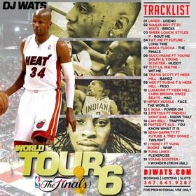 World Tour 6: The Finals DJ Wats front cover