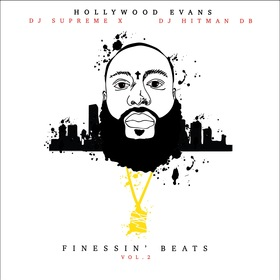 Finessin' Beats Vol. 2 Hollywood Evans front cover