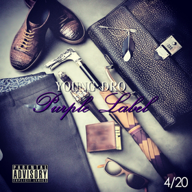 Purple Label Young Dro front cover