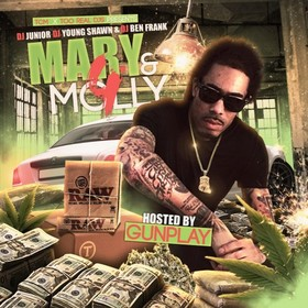Mary & Molly 4 (Hosted By Gunplay) DJ Junior front cover