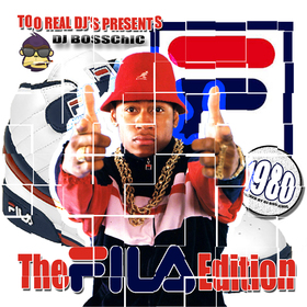 The FILA Mixtape: 80's Edition DJ Boss Chic front cover