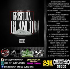 GRISLEDA BLANCO VOL 4 DJ MF Sunflower front cover
