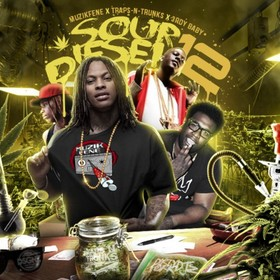 Sour Diesel 12 Traps-N-Trunks front cover
