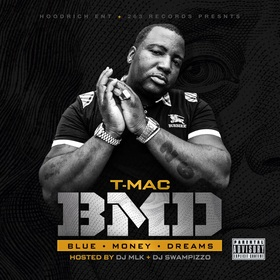 B.M.D (Blue Money Dreams) T-Mac front cover