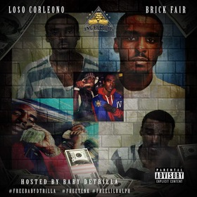 BRICKFAIR OFFICIAL MIXTAPE Loso Corleone front cover
