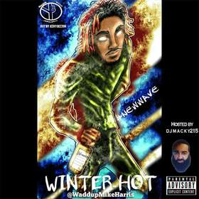 WINTER HOT Mike Harris front cover
