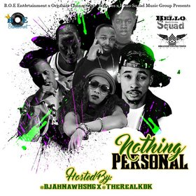 Nothing Personal B.O.E Entertainment front cover