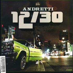 Andretti 12/30 Curren$y front cover