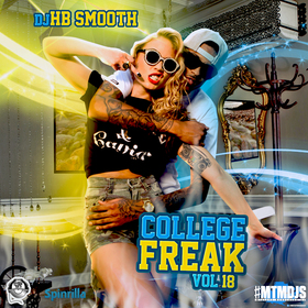 College Freak 18 DJ HB Smooth front cover