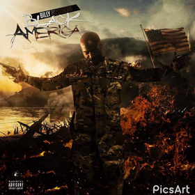Black Amerika Billy Busthead front cover