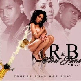 R&B Slow Jams Dj E-Dub front cover