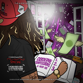 Codeine Confessions DJ Fresh A$$ front cover