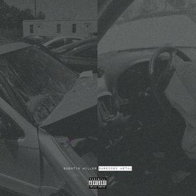 Shredded Metal Quentin Miller front cover