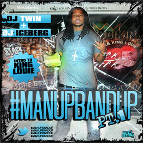 #ManUpBandUp King Louie front cover
