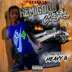 Hemi Godd - All Eyes On Me Heavy Gee front cover