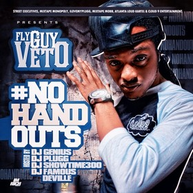 No Hand Outs Just Call Me Veto front cover