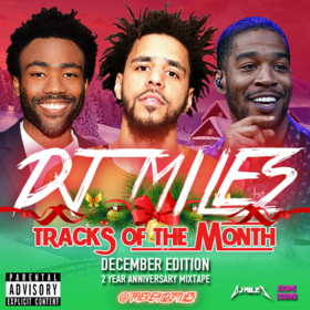 Tracks of the Month (December Edition) (2016) DJ Miles front cover