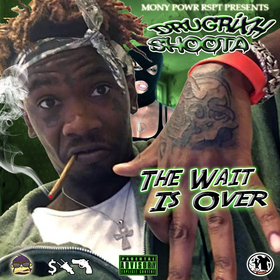 DrugRixh Shoota - The Wait Is Over Dj Hustle Man front cover