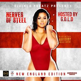 Nerves Of Steel - New England Edition (Double CD) DJ Cinco P Beatz front cover
